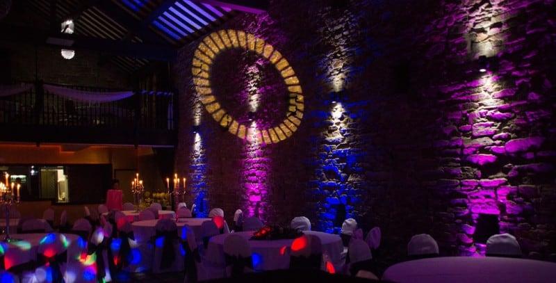 Lancashire Manor up-lighting 2